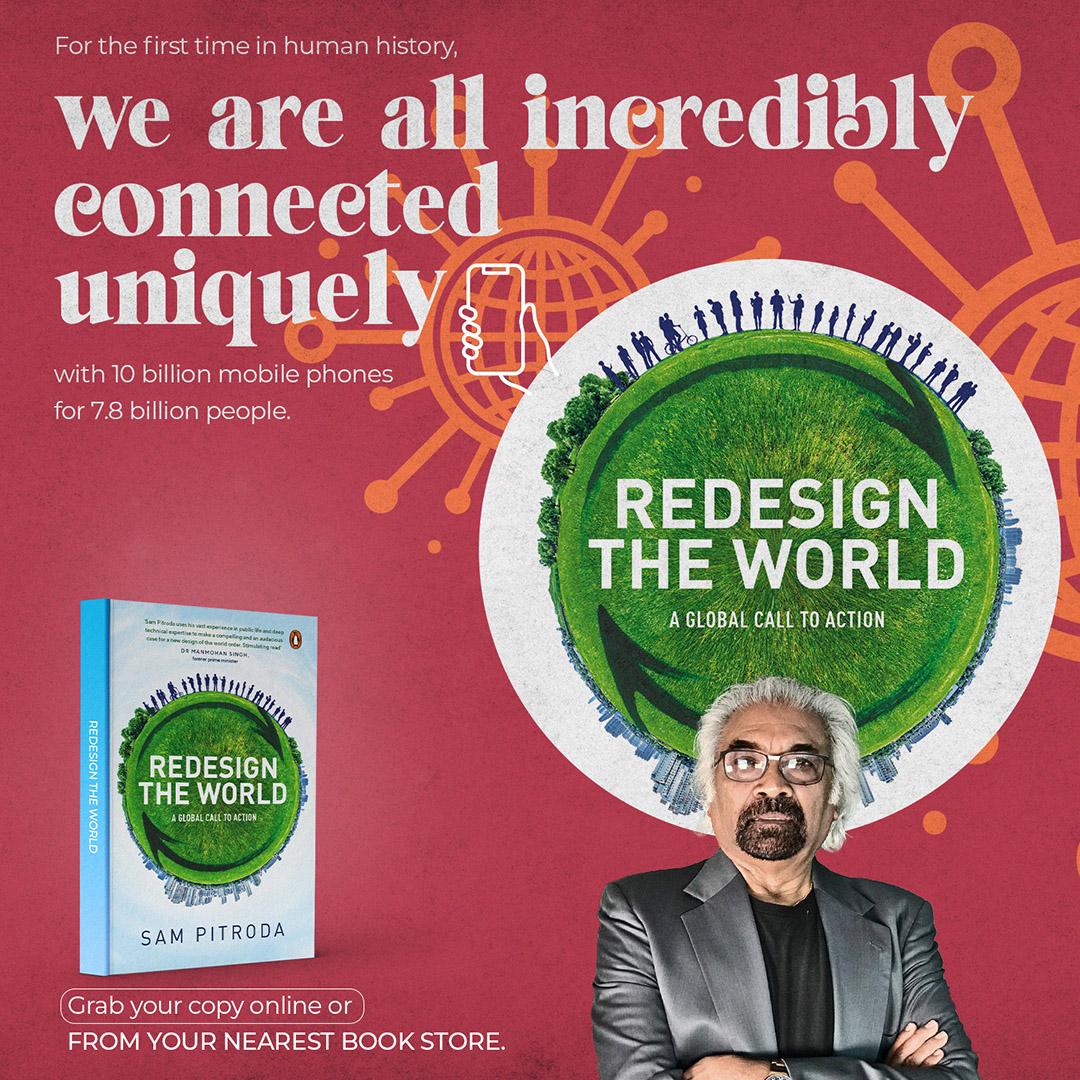 Book Reviews - Redesign the World by Sam Pitroda